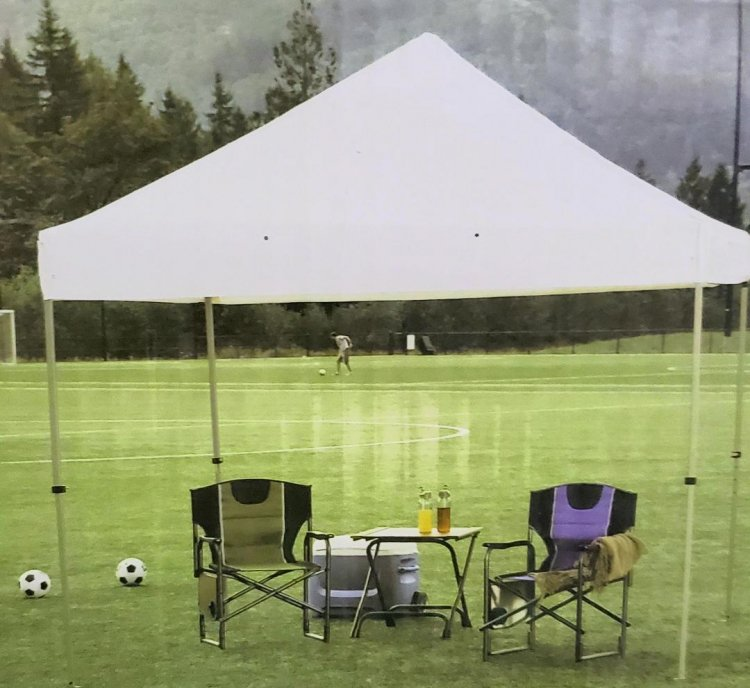 - Pop Up Tent 10' x 10'