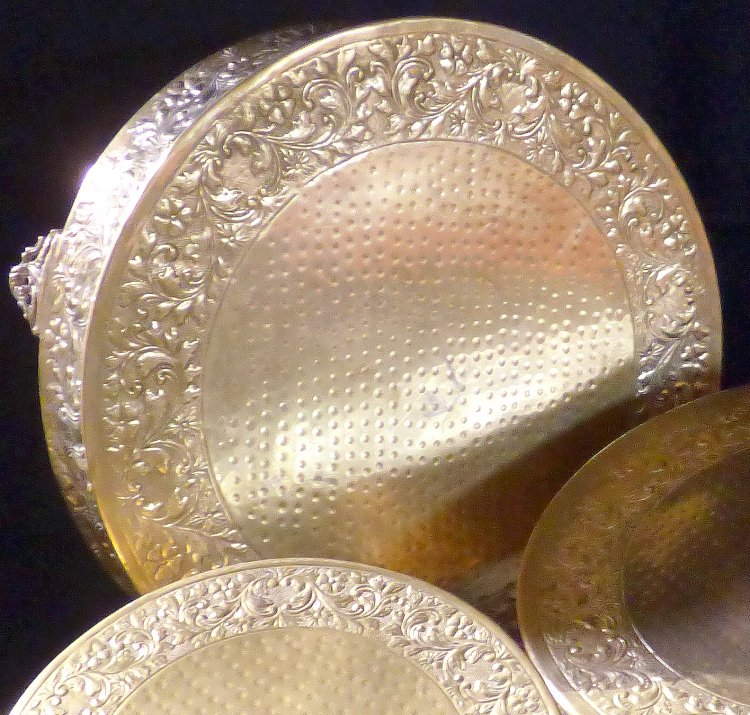 Gold20Cake20Stand20large 1602264622 big - Cake Stand-Gold Plated 19""