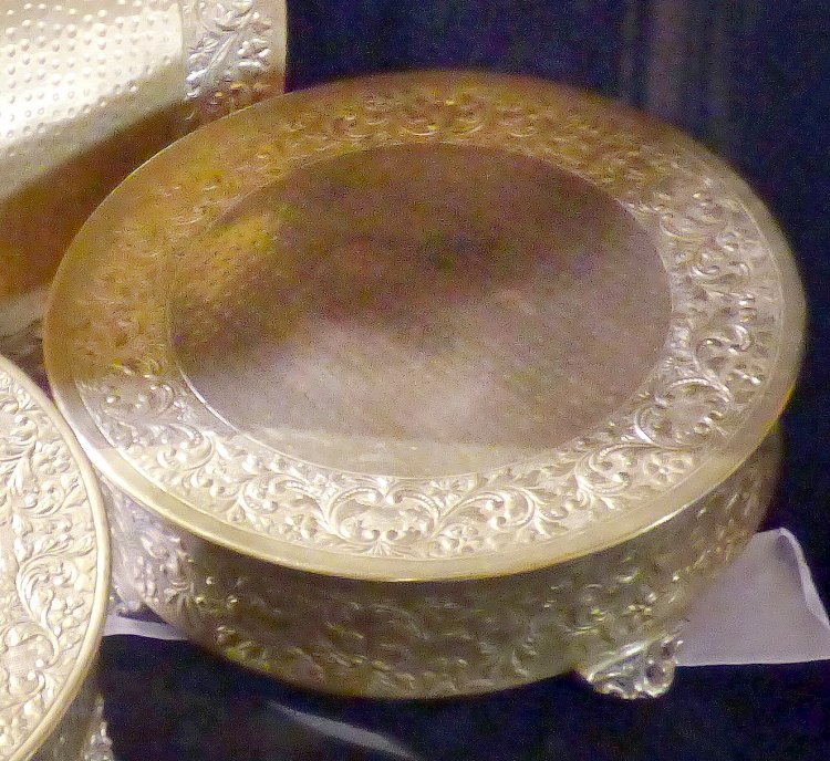 Cake Stand- Gold Plated 16