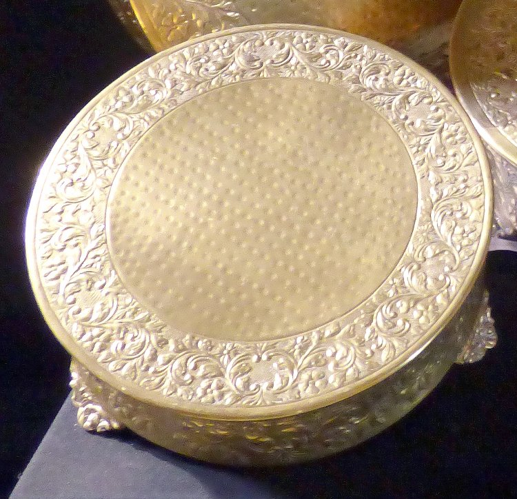 Gold20Cake20Stand20small 1602263657 big - Cake Stand- Gold Plated 14""