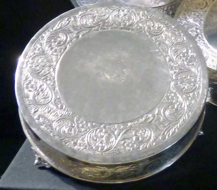 Silver Plated cake stand 14