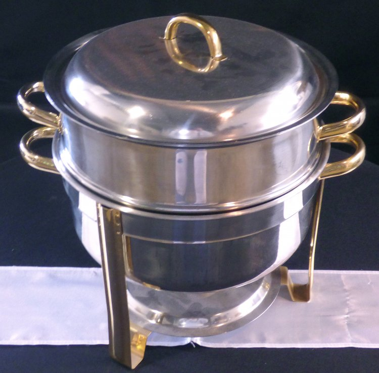Chafer Two-Toned Round 15 Qt.