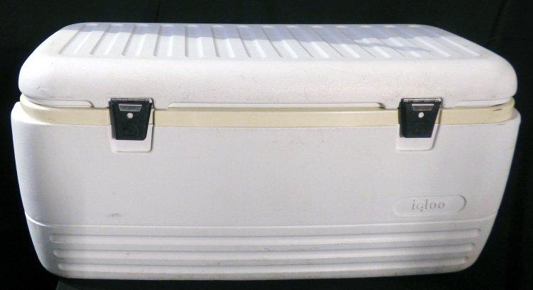 White Cooler 120 Qt