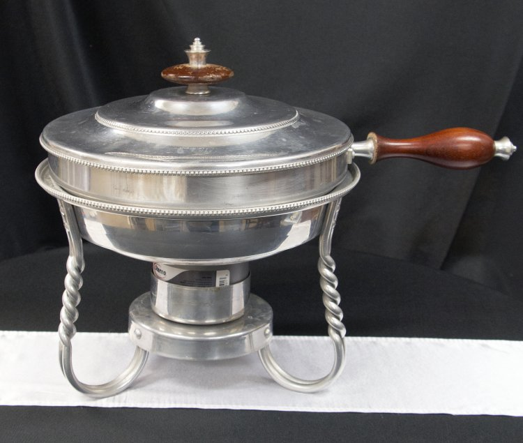 Chafer Fondue Pot 3 Qt Stainless Steel