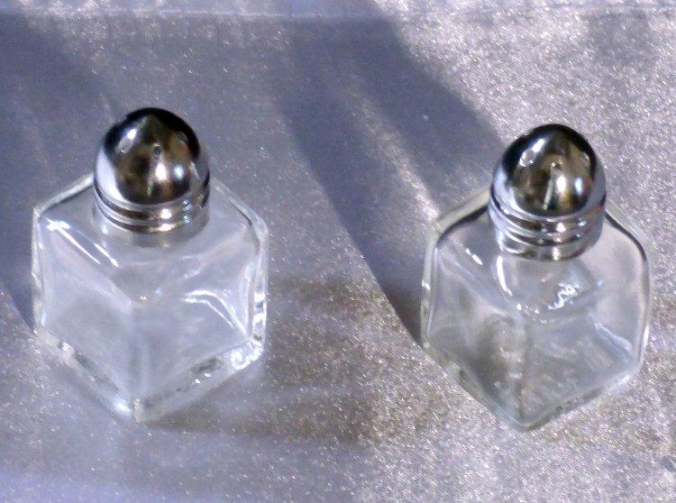 Mini S/P Shaker Silver