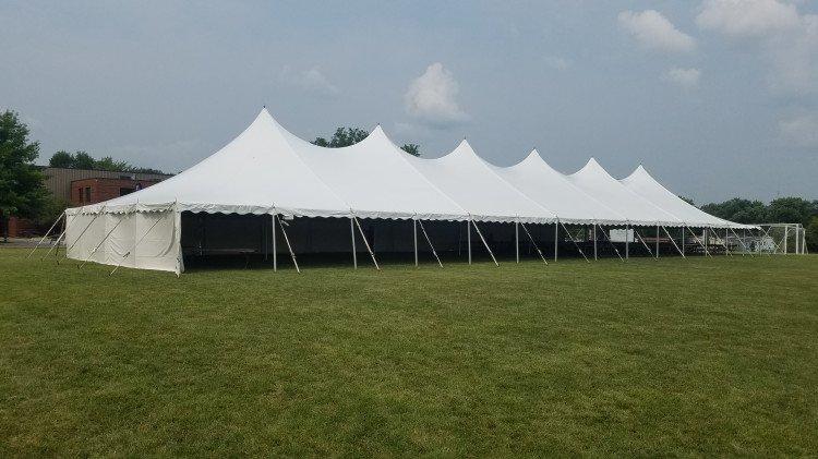Tent White Solid Sidewalls 20' x 7' Tall