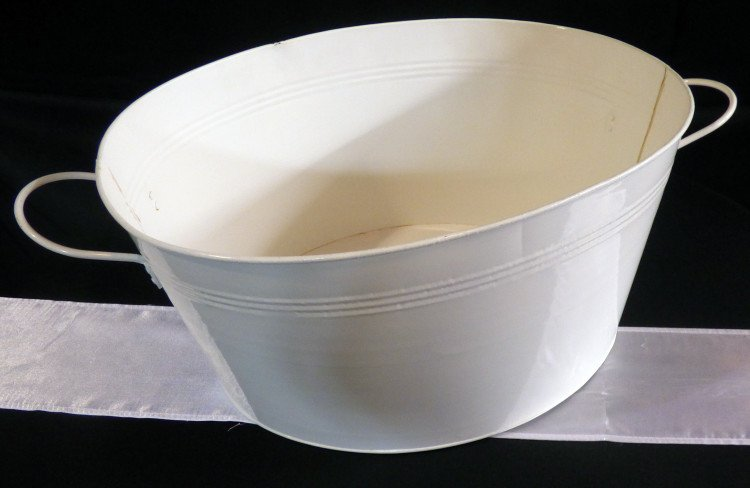 white20galvanized20tub 1605029593 big - White Galvanized Oval Tub