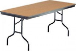 Rectangle Wood Top Table 8'x30