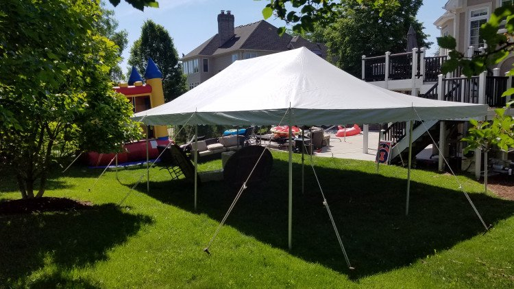 20' x 30' Standard Canopy Pole Tent