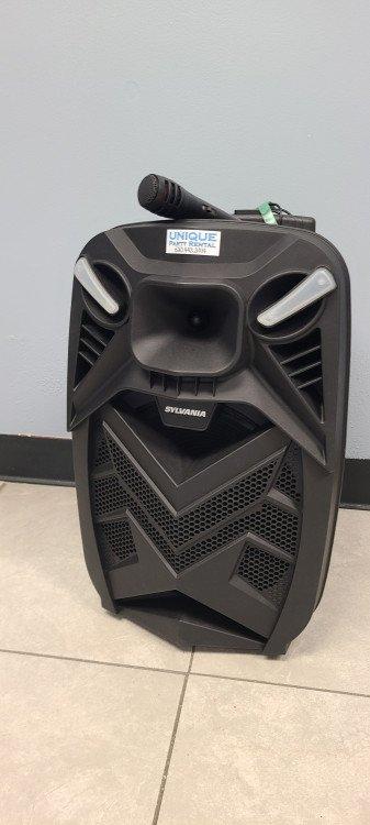 Bluetooth Sylvania Speaker with Mic
